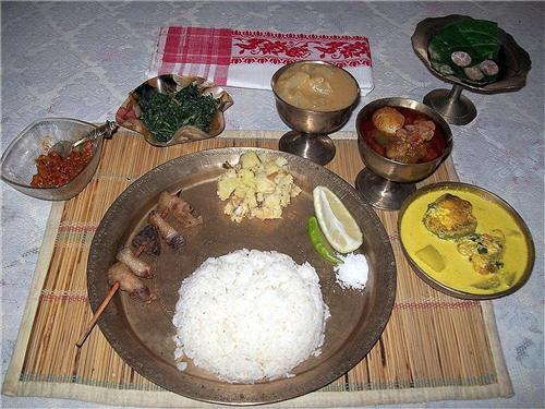 Food in Sibsagar