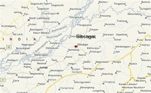 geography of Sibsagar