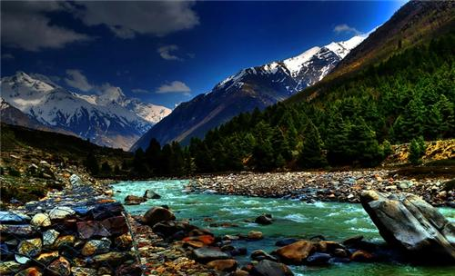Chitkul in Himachal