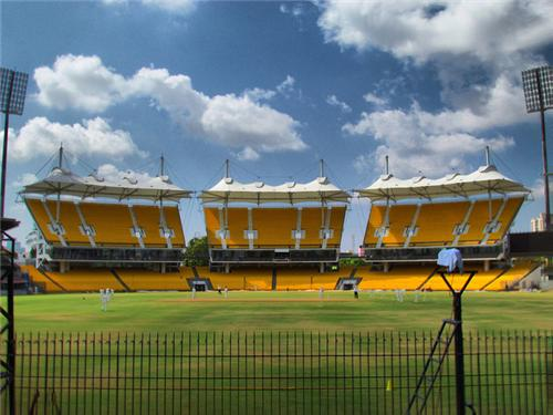 MA Cricket Stadium in Chennai