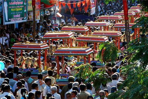 Arunabathimoovar Festival of Chennai