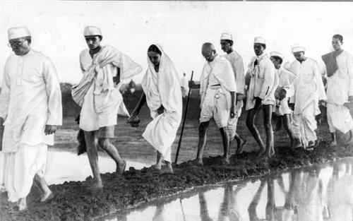 Role of Mahatma Gandhi...