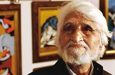 MF Hussain
