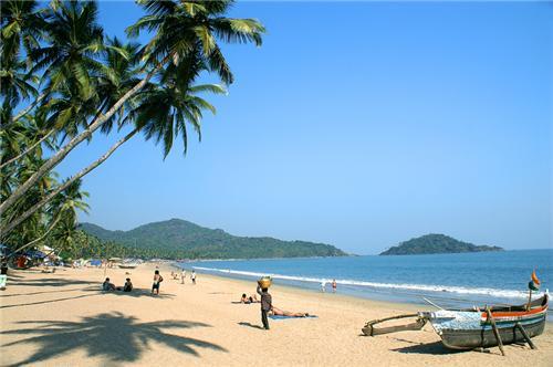 Agonda Beach in Canacona