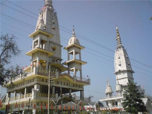 The Augharnath Temple at Meerut