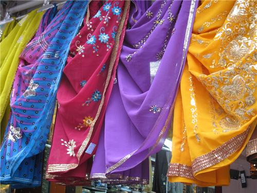 Exquisite collection of sarees in Nalanda