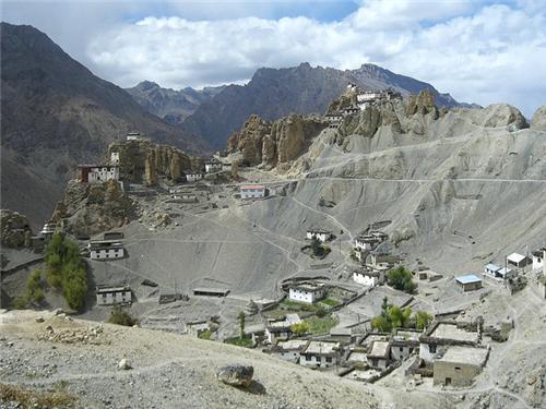 Dhankar Village in Lahaul and Spiti